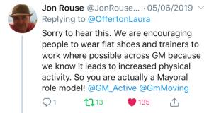 Jon Rouse Tweet