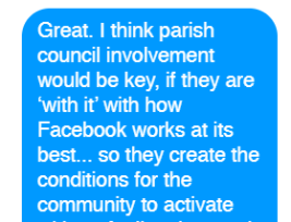 Parish council involvement